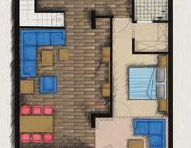 #32 for Hotel Rooms Illustration af parthamikh