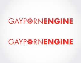 #128 para Gay Adult Logo Design por FEDERICOSAEZ