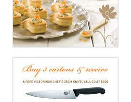 VictorNdoromo tarafından Flyer Design for Country Chef Desserts Pty Ltd için no 65