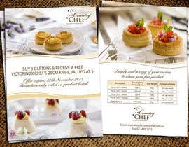 #48 untuk Flyer Design for Country Chef Desserts Pty Ltd oleh Jabinhossain