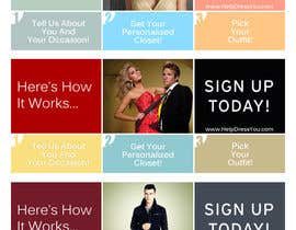 nº 124 pour Banner Ad Design for HelpDressYou.com (under redesign) par pbgrafix