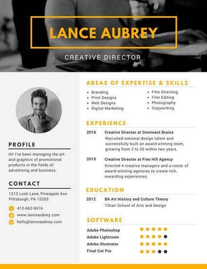 Entry #57 by mrmridha1 for Create an Interactive PDF Resume