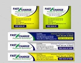 nº 9 pour Banner Ad Design for www.fastcharge.com par RacksDesigns