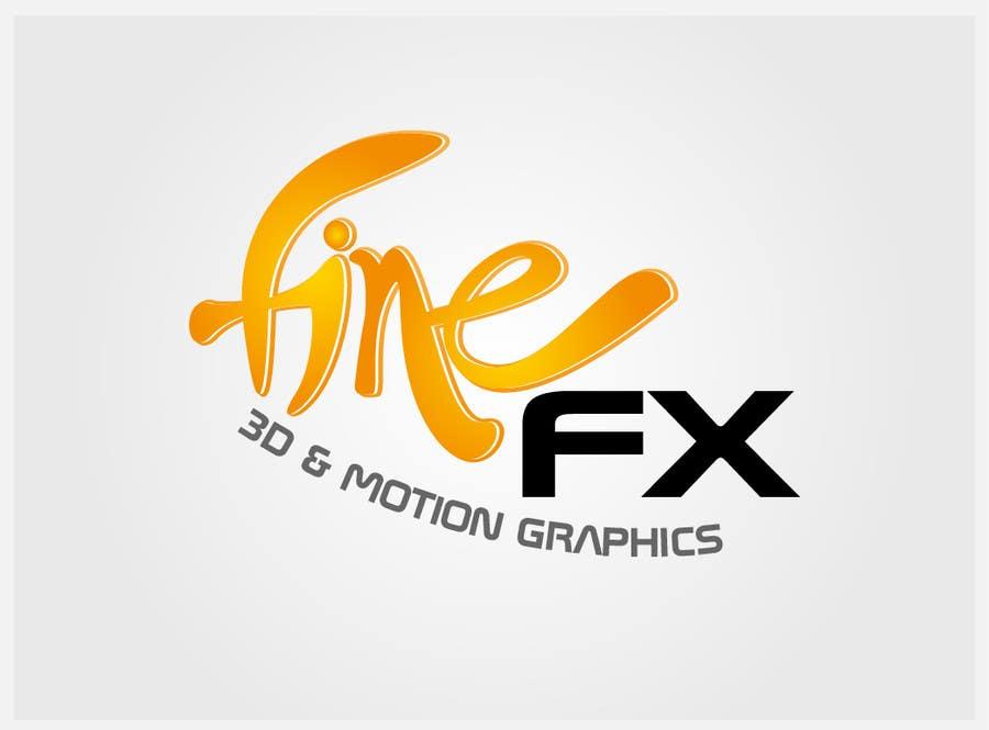 Bài tham dự cuộc thi #263 cho Logo Design for Fine FX | 3D & Motion Graphics