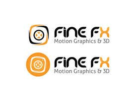 nº 196 pour Logo Design for Fine FX | 3D & Motion Graphics par udaya757