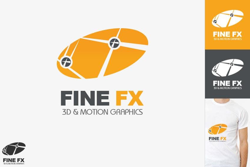 Bài tham dự cuộc thi #237 cho Logo Design for Fine FX   3D & Motion Graphics