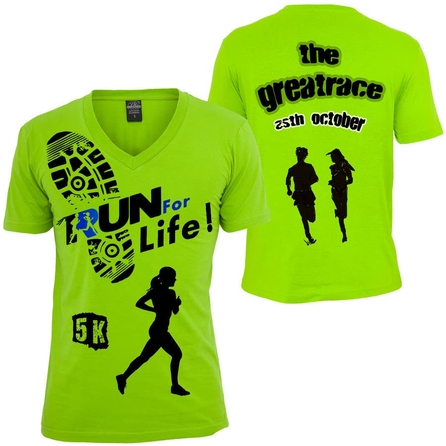 Entry 13 By Gpaone For Design A T Shirt For 5k Race Freelancer