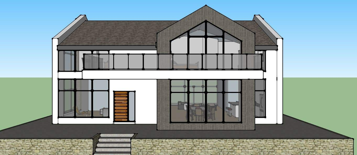 Awesome Contest Entry #11 For Do A New House Design In AutoCAD  2 Floor Plans
