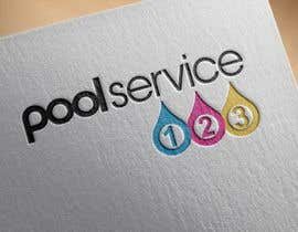 #180 para Pool Service 123 Logo de Exer1976