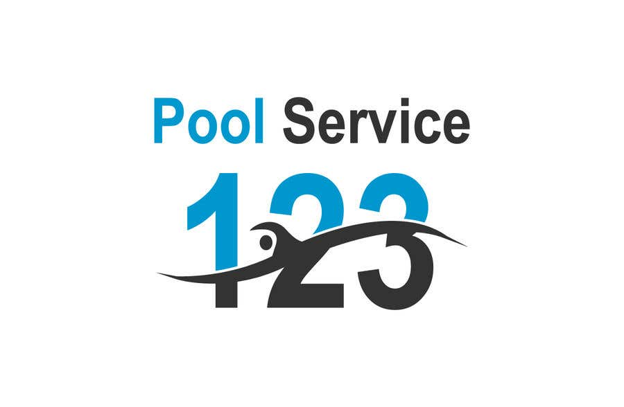pool service logo. Contest Entry #153 For Pool Service 123 Logo
