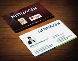 #44 para Design some Business Cards for Nitinagin de mahmudkhan44
