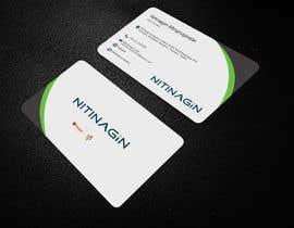 #22 para Design some Business Cards for Nitinagin de swaponkumarmz02