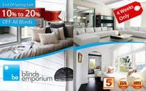 Graphic Design Konkurrenceindlæg #49 for Banner Ad Design for Blinds Emporium