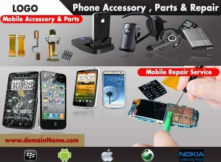 Contest Entry #32 for Banner Ad Design for Phone accessory and Parts
