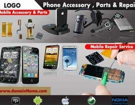 #32 untuk Banner Ad Design for Phone accessory and Parts oleh arshidkv12
