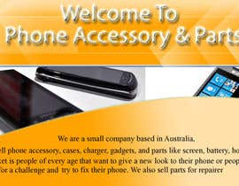 #3 untuk Banner Ad Design for Phone accessory and Parts oleh sgsuk