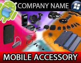 #21 untuk Banner Ad Design for Phone accessory and Parts oleh Brieg
