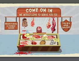 #18 for Large Poster Display Layout for a Cannibal Butcher Shop ( fictitious / not real ) by sevastitsavo