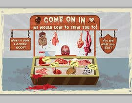 #19 for Large Poster Display Layout for a Cannibal Butcher Shop ( fictitious / not real ) by sevastitsavo