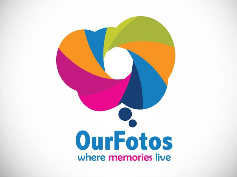 Inscrição nº                                         73                                      do Concurso para                                         Logo Design for OurFotos.com - where memories live.