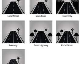 #17 para Design a set of road icons por satishandsurabhi