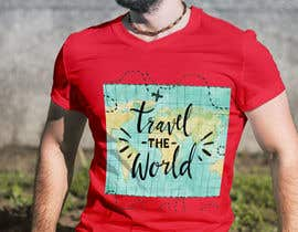 nº 26 pour Travel T-Shirt Design par MDARIFEN
