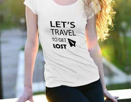 nº 18 pour Travel T-Shirt Design par jibobonjibon694