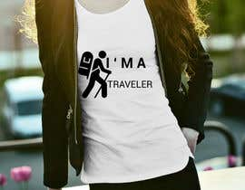 nº 19 pour Travel T-Shirt Design par jibobonjibon694