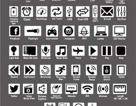 #93 для Design Product Feature Icons від nerobislamrumee1