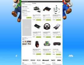 nº 27 pour Website Design for RetroGaming Shop on Magento par dragnoir