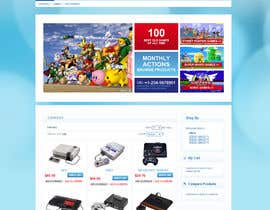 #2 untuk Website Design for RetroGaming Shop on Magento oleh impact27