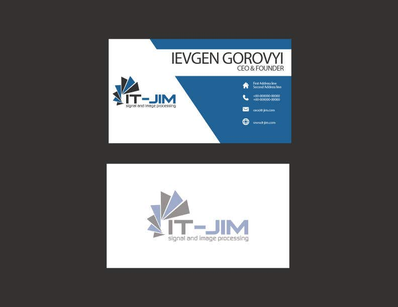 Entry #83 by JustDesignsss for Create a perfect business card ...