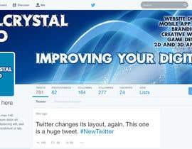#5 for Design a Twitter Header and Profile Picture for FanalCrystal Studio af Naumovski