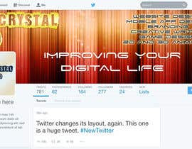 #6 for Design a Twitter Header and Profile Picture for FanalCrystal Studio af Naumovski