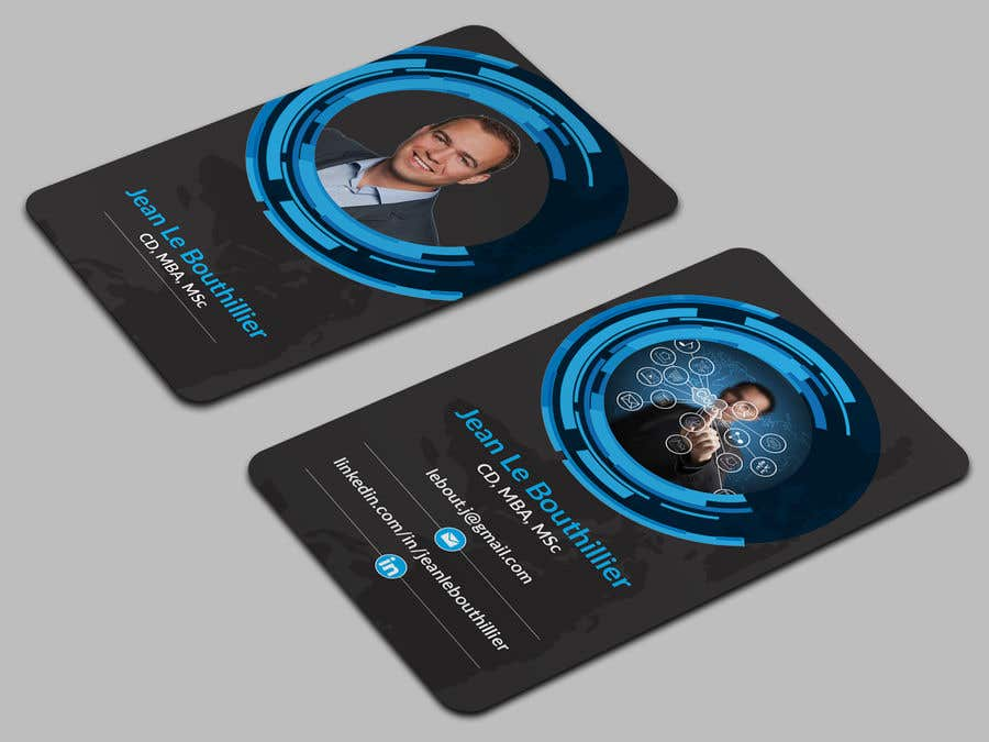Entry #46 by Jadid91 for Design Networking Business Cards   Freelancer
