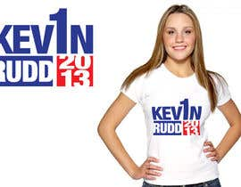 #113 cho T-shirt Design for Help Former Australian Prime Minister Kevin Rudd design an election T-shirt! bởi jtmarechal
