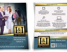 #26 for Flyer Design for legal services company - front and back A6 by KahelDesignLab