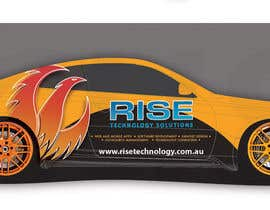 #25 pentru Car Wrap Design for RISE Technology Solutions de către focused
