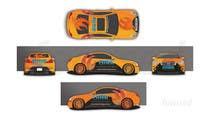 Bài tham dự #24 về Graphic Design cho cuộc thi Car Wrap Design for RISE Technology Solutions