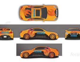 nº 24 pour Car Wrap Design for RISE Technology Solutions par focused