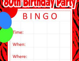 happytum tarafından Design some Stationery for Bingo Birthhday Party için no 5