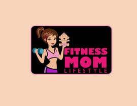 Nro 40 kilpailuun Design a Logo for Fitness Mom Lifestyle käyttäjältä mugshots