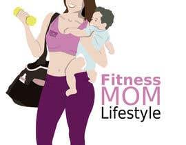 Nro 38 kilpailuun Design a Logo for Fitness Mom Lifestyle käyttäjältä noelcrm