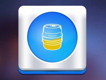Image of                             Icon for Android/iOS keg app