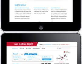 nº 27 pour Website Design for Use Before Flight par tanscreative