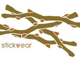#81 para Logo Design for Stick Wear de lollyt