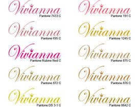 #78 para Logo Design for Vivianna Jewelry por eamoc