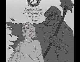 Deda69 tarafından Father Time Cartoon için no 3