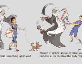 NemuruT tarafından Father Time Cartoon için no 17