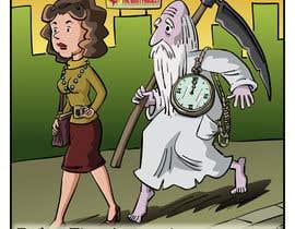 pedroke tarafından Father Time Cartoon için no 15